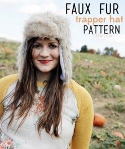 trapper hat free sewing pattern