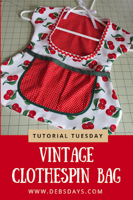 Clothespin Bag Dress FREE Sewing Tutorial