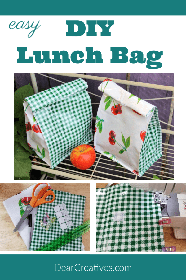 Lunch Bag FREE Sewing Tutorial