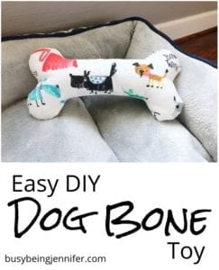 Dog Bone Toy FREE Sewing Tutorial