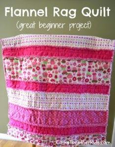 Flannel Rag Quilt Free Tutorial