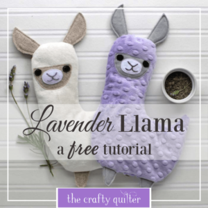 Hot or Cold Plush FREE Sewing Tutorial
