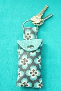 Keychain Ear Bud Pouch FREE Pattern