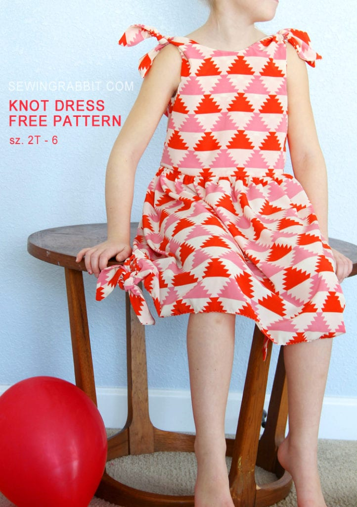 Knot Dress FREE Sewing Tutorial