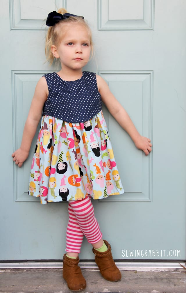Madeline Dress Free Sewing Pattern