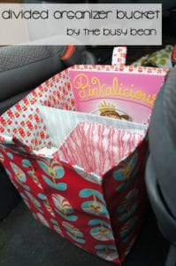 Organizer Bucket FREE Sewing Tutorial