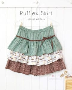 Ruffle Skirt FREE Sewing Tutorial