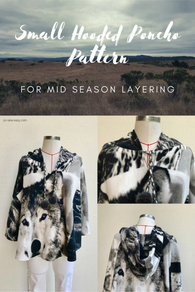 Small Hooded Poncho FREE Pattern