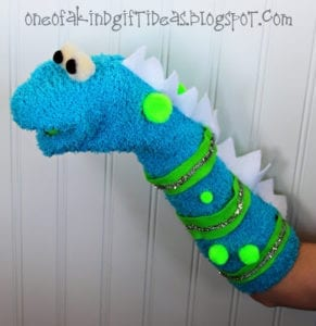Monster Sock Puppet Tutorial