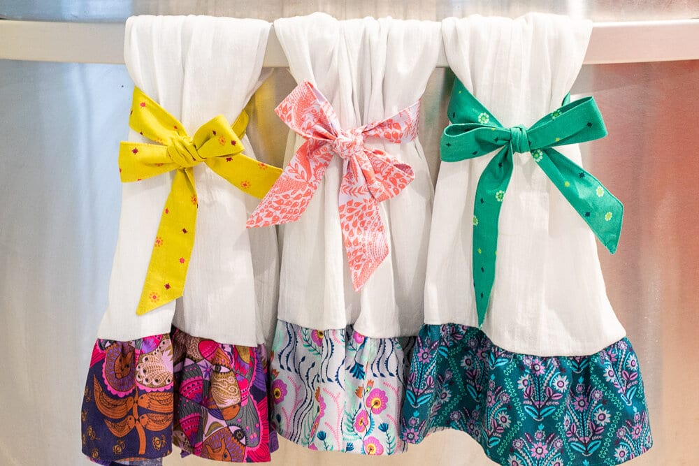 Kitchen Towels FREE Sewing Tutorial