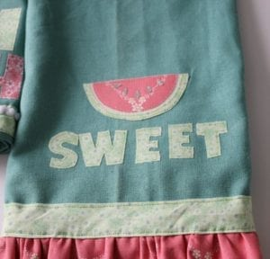 Watermelon Applique FREE Pattern