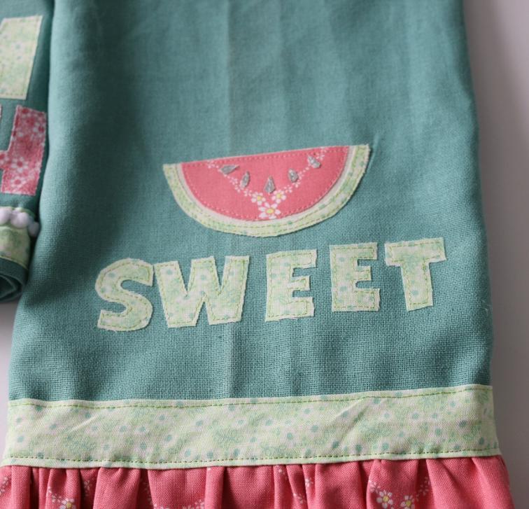 Watermelon Applique FREE Pattern