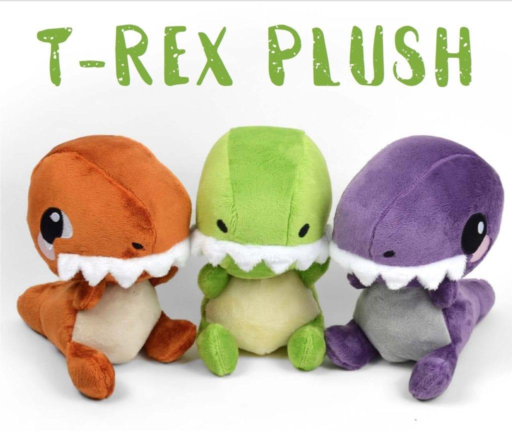 T-Rex Plush FREE Sewing Pattern