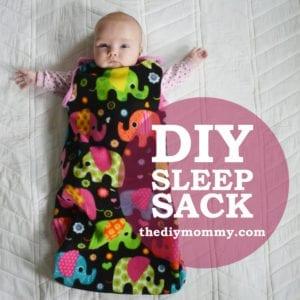 Baby Sleep Sack FREE Pattern