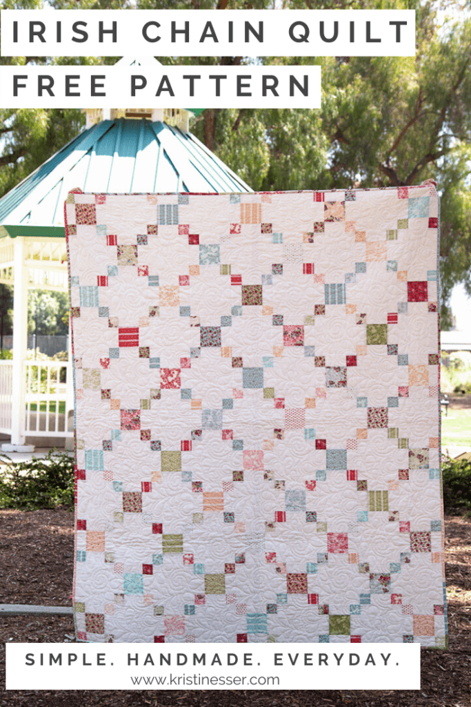 Loyal Heights Irish Chain Quilt FREE Tutorial