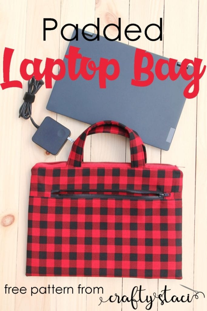Padded Laptop Bag FREE Sewing Tutorial