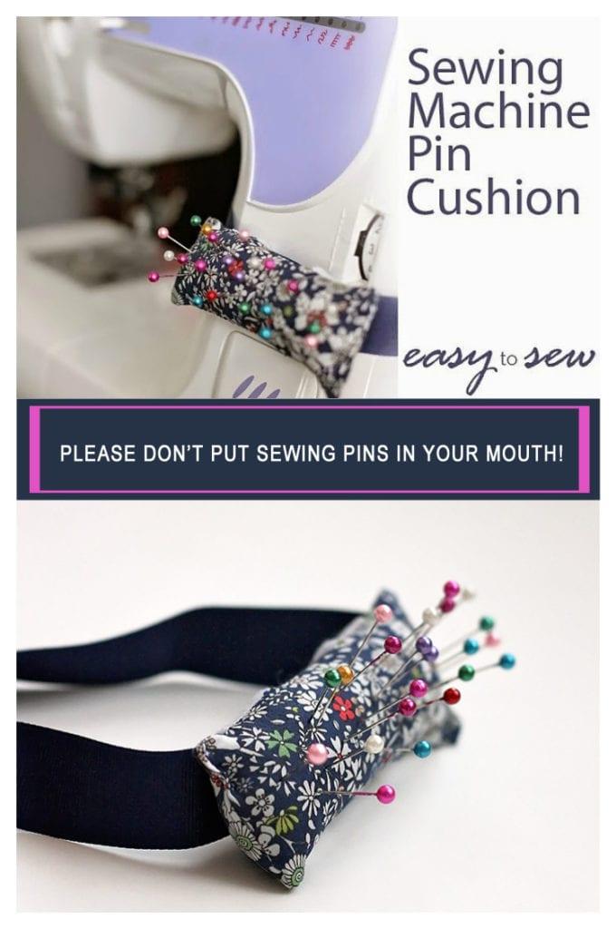 Pin Cushion FREE Sewing Tutorial