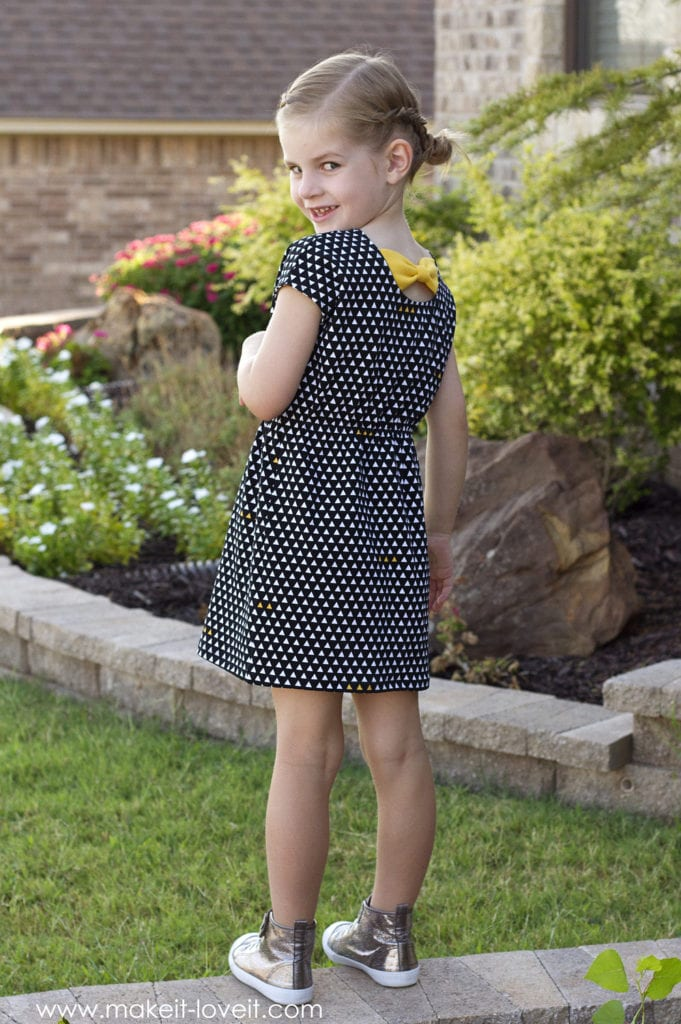 Easy Knit Dress Free Tutorial