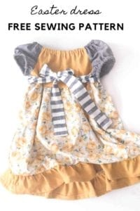 Toddler Dress FREE Sewing Tutorial