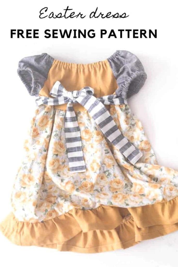 Toddler Dress FREE Sewing Tutorial
