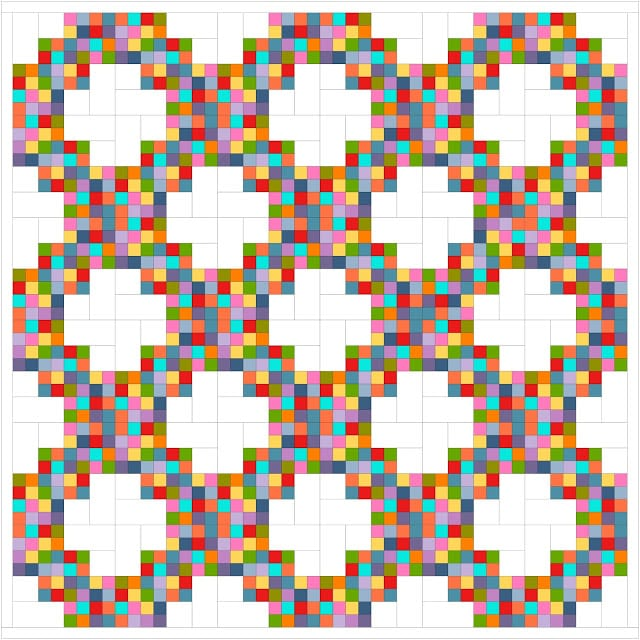 Twirling at the Disco Quilt FREE  Tutorial