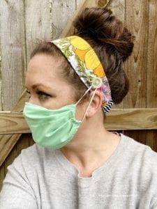 Fabric Headband FREE Sewing Pattern
