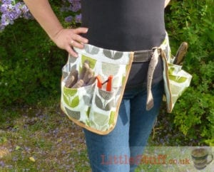 Garden Tool Belt FREE Sewing Tutorial