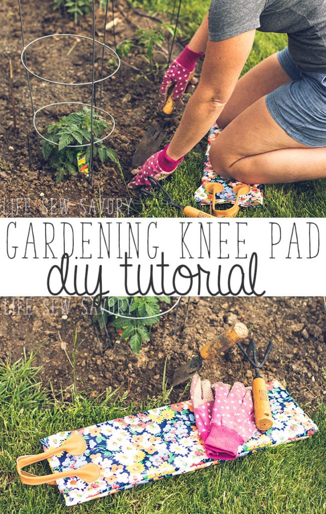 Gardening Knee Pad FREE Tutorial