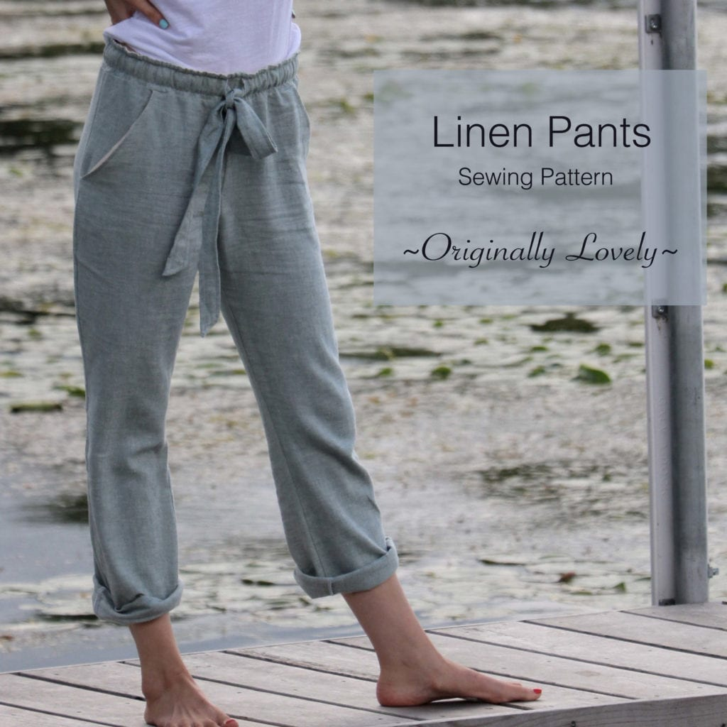 Linen Pants FREE Sewing Pattern