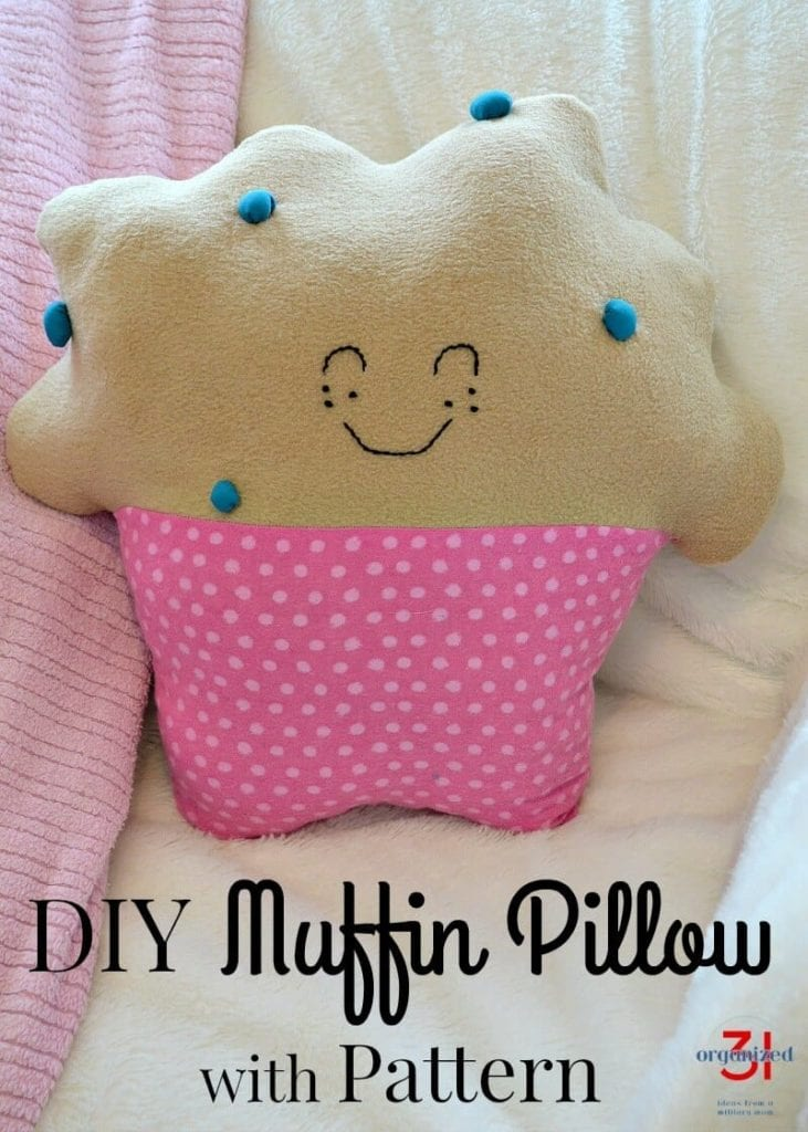 Muffin Pillow FREE Sewing Tutorial