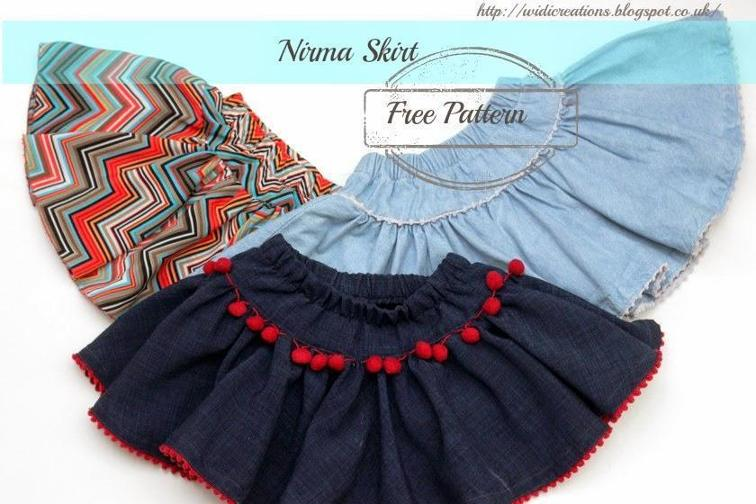 Nirma Skirt FREE Sewing Pattern