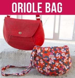 Oriole Bag FREE Sewing Pattern