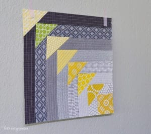 Quilt-As-You-Go Block FREE Tutorial