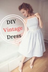 Vintage Dress FREE Sewing Tutorial