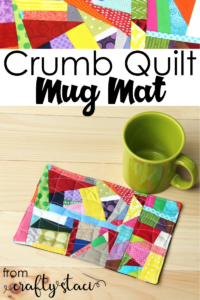 Crumb Quilt Mug Mat FREE Sewing Tutorial