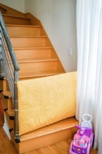 Fabric Baby Gate Free Sewing Tutorial