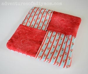 Fabric Hot Pad FREE Sewing Tutorial