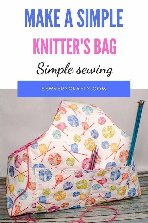 Knitters Bag FREE Sewing Pattern