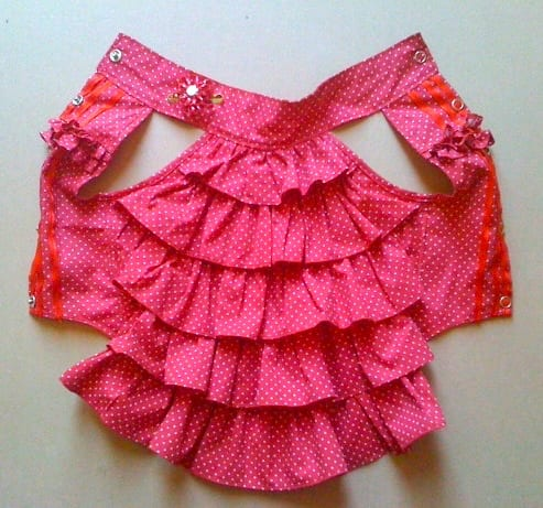 Bella Frill Dress FREE Sewing Pattern