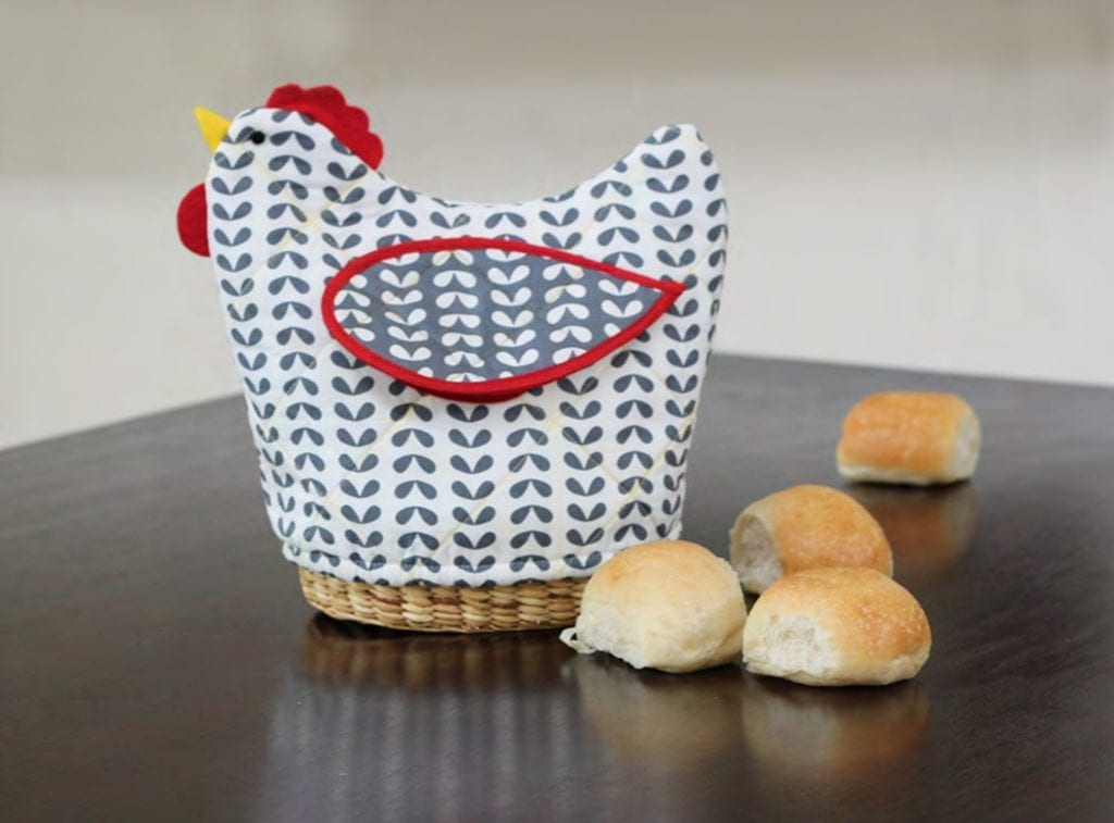Bread Basket Cover FREE Sewing Pattern