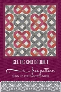 Celtic Knots Quilt Free Tutorial