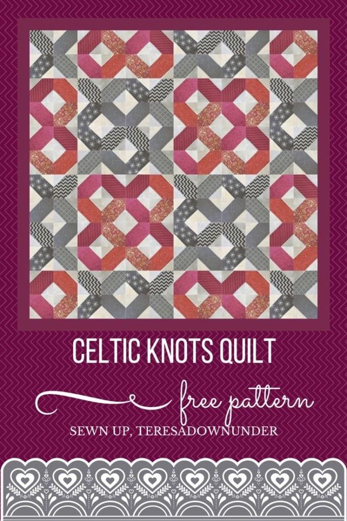 Celtic Knots Quilt Free Tutorial