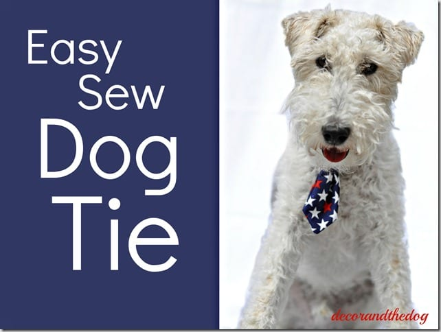 Dog Tie FREE Sewing Tutorial
