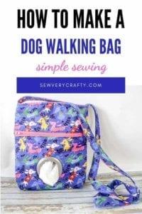 Dog Walking Bag FREE Sewing Tutorial