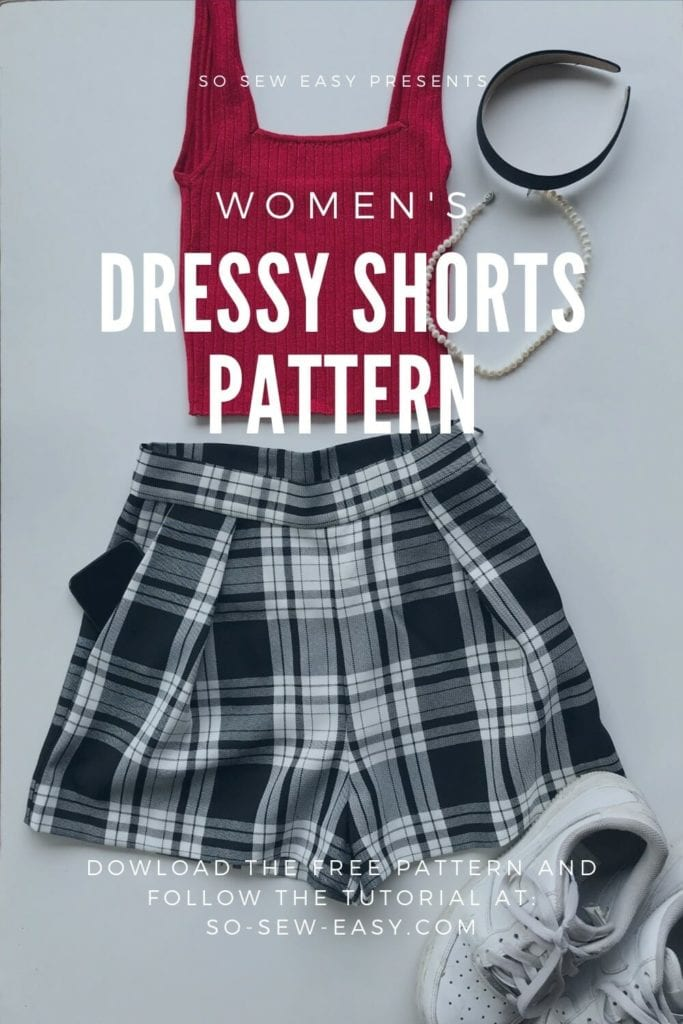 Dressy Shorts FREE Sewing Pattern