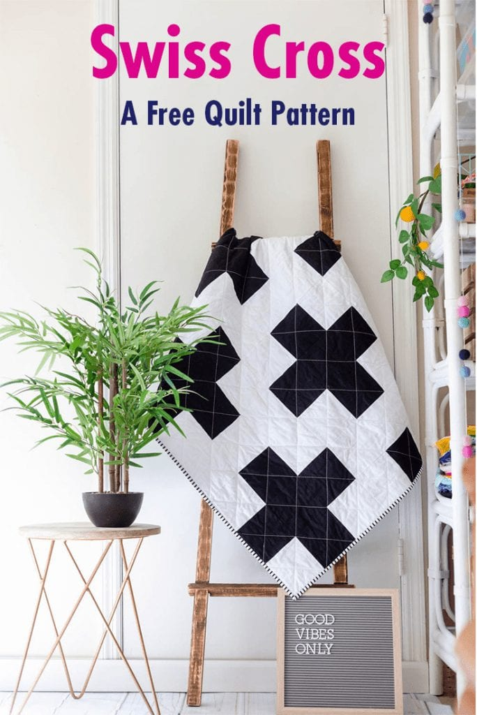 FREE Swiss Cross Quilt Pattern