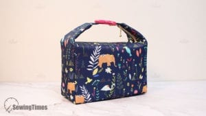 Insulated Lunch Bag FREE Sewing Tutorial