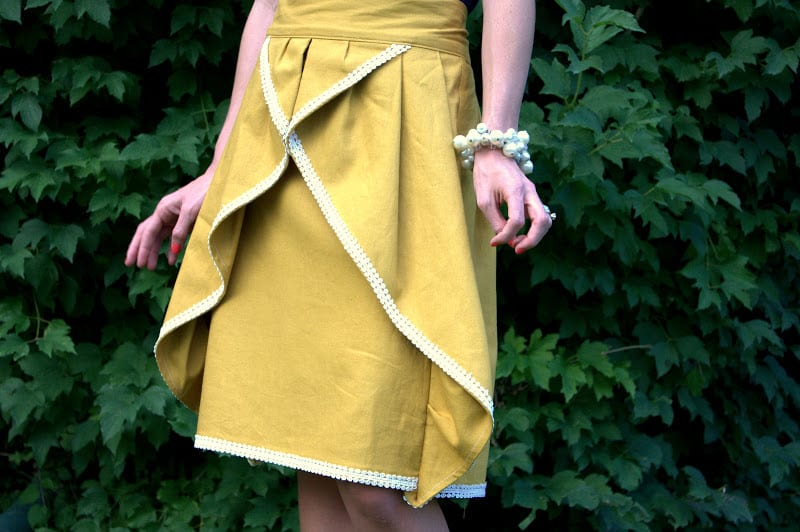 Pinwheel Skirt FREE Sewing Tutorial