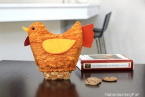 Quilted Turkey Bread Basket FREE Sewing Tutorial