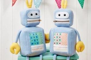 Robot Toy FREE Sewing Pattern